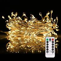 Lichtslang buiten GREEMPIRE 336 LEDs 20M lichtketting buiten stroomaangedreven met afstandsbediening, lichtbuizen…