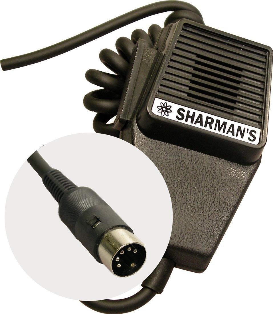 Cb Ham Radio Microphone Mic Midland 5 Pin Plug Wiring Uhf Transmitter 5pin Input Jack Electronics