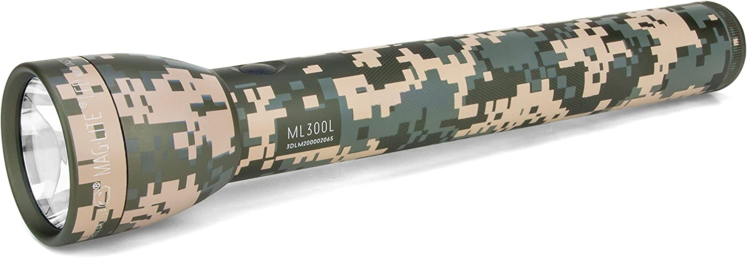 UCP Camo MagLite 3-Cell D Display Box