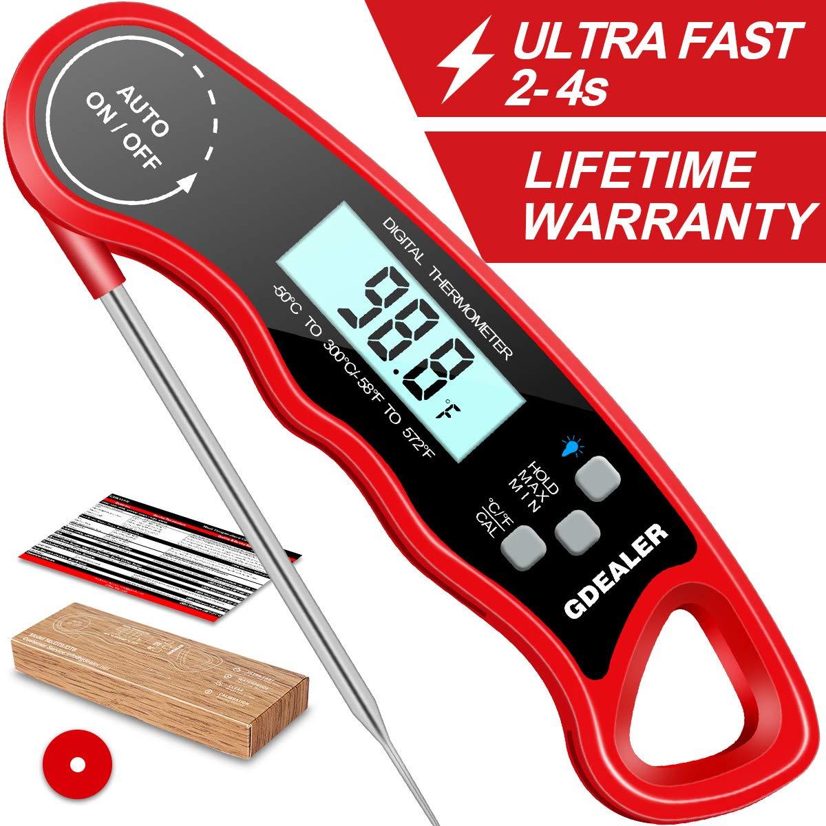 Amazon.com: GDEALER termómetro digital impermeable para ...