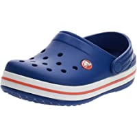Crocs Crocband Clog K, Zuecos Unisex Niños, 32/33 EU, Azul (Cerulean Blue)