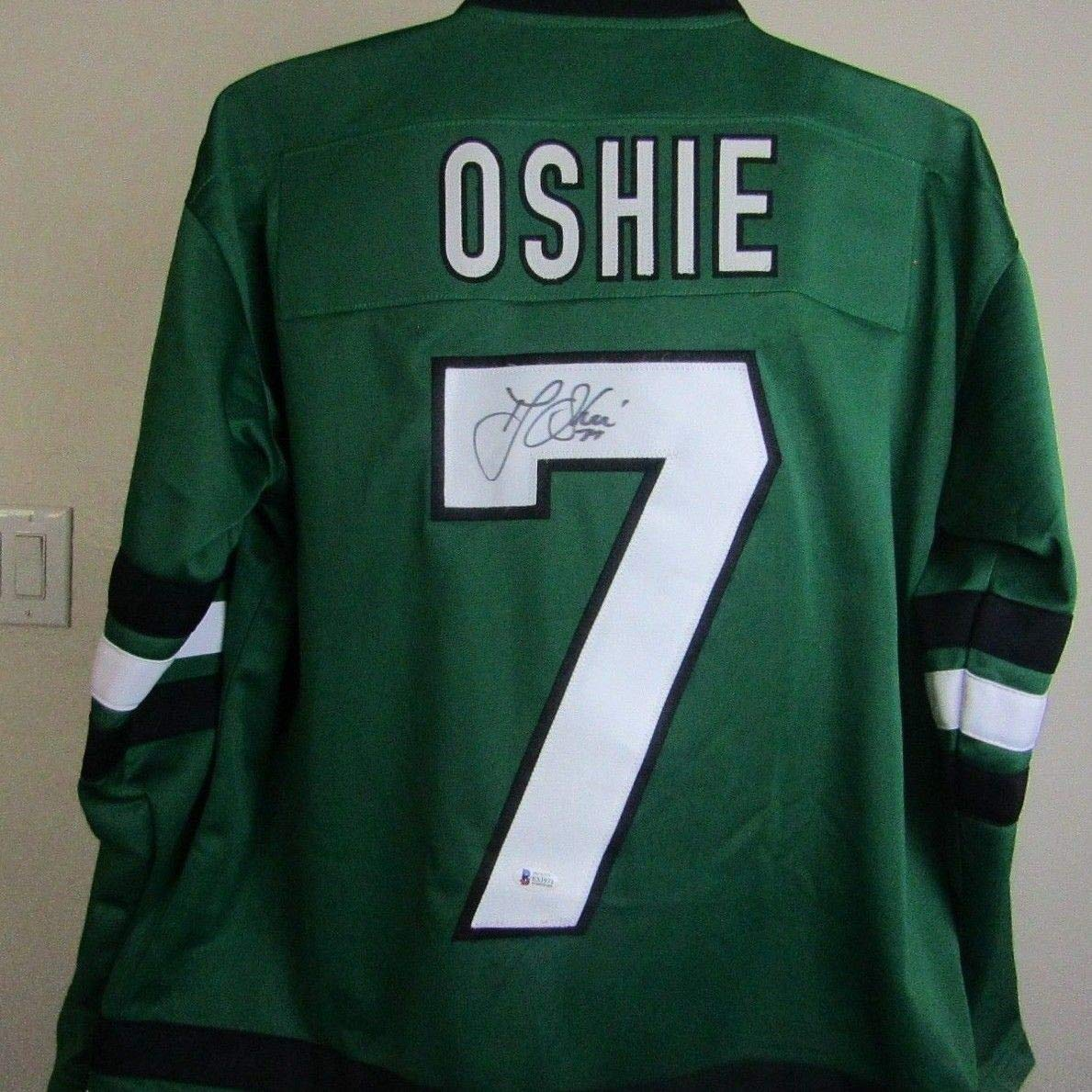 Tj Oshie Autographed Signed North Dakota Sioux Jersey Beckett Coa at  Amazon s Sports Collectibles Store 5a984708702