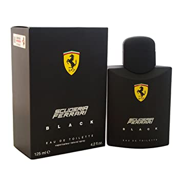 Amazoncom Ferrari Scuderia Black Eau De Toilette Spray For Men