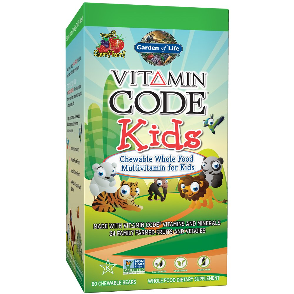 probiotics whole food garden multivitamin chewable com vitamin life dp kids raw with of vegetarian code for supplement amazon