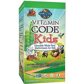Amazoncom Garden of Life Vegetarian Multivitamin Supplement for