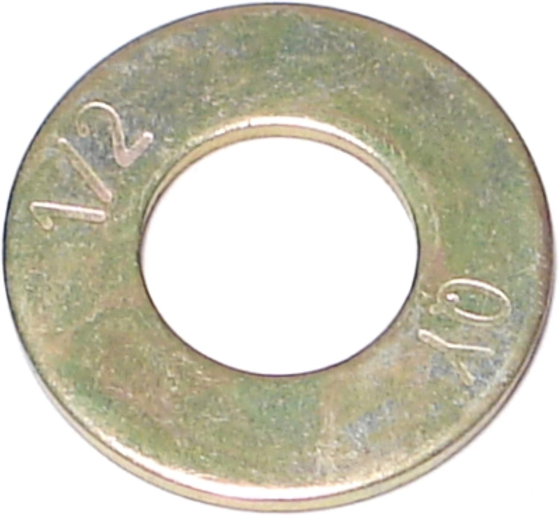 Piece-255 1//2 Hard-to-Find Fastener 014973321161 Grade 8 SAE Flat Washers