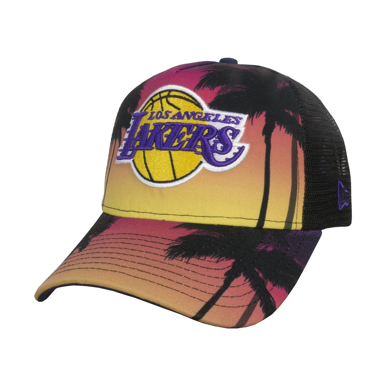 best sneakers 5db48 ae670 New Era Miami Heat Coastal Heat Trucker Cap - Multi  Amazon.co.uk  Clothing