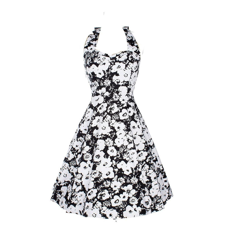 Kekexili-FashionKleidSexyWeinleseBlumendruck-KleidohneParteiHülsebacklessCocktail
