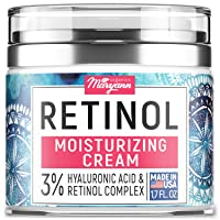 Anti Aging Retinol Moisturizer Cream for Face - Natural and Organic Night Cream...