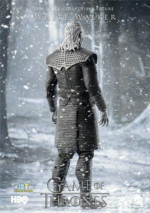 "ThreeZero 3Z0037 1//6 Scale Game of Thrones White Walker 12/"" Action Figure Boots"