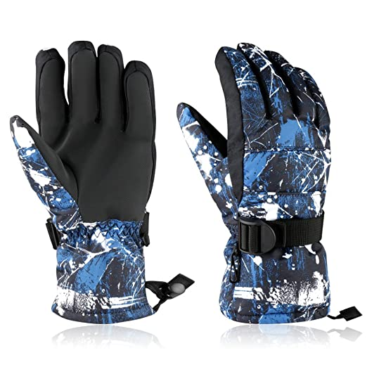 Skiing & Snowboarding Sports & Entertainment High Quality Winter Ski Gloves Female Ski Glove Coldproof And Windproof Warm Riding Waterproof Mittens For Women