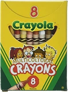 product image for Crayola Multicultural Crayons -24 Count (Set of 3 - 8 Packs)