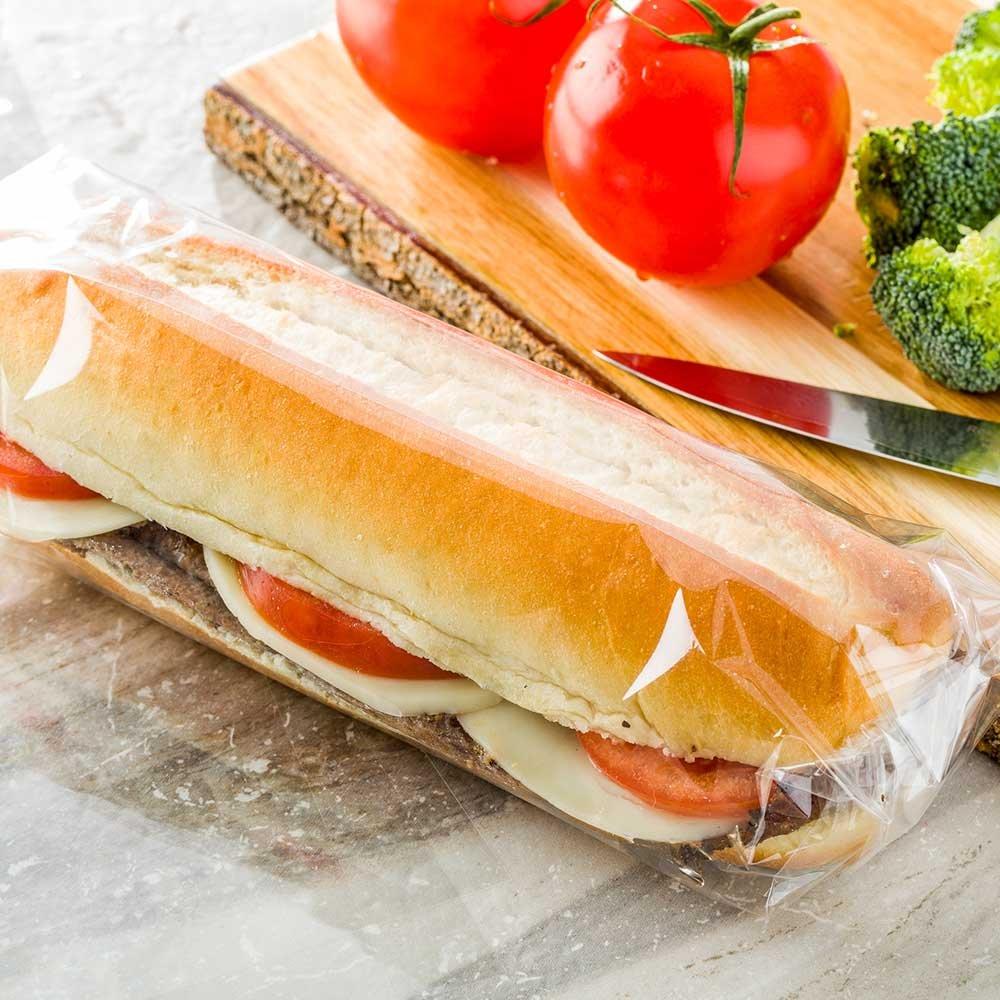 Restaurantware RWP0330C Safe Plastic Sandwich Bags, Extra Large by Restaurantware