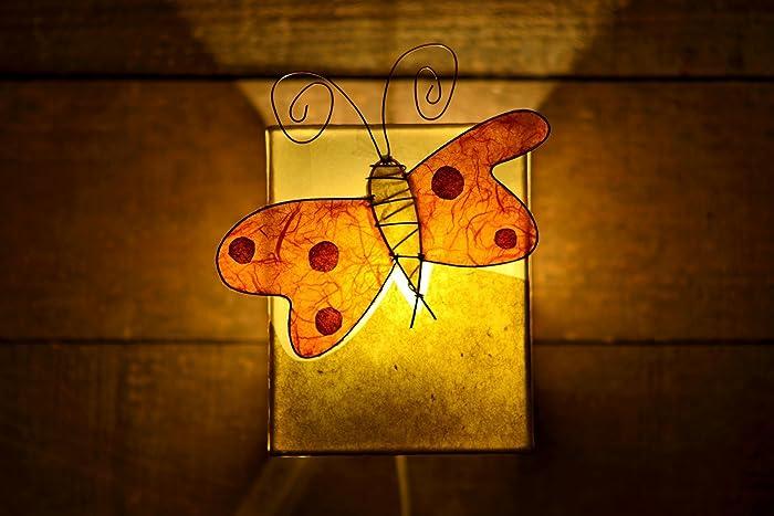 Plafoniere Parete Bambini : Paralume plafoniera da parete lampada fatta a mano farfalla