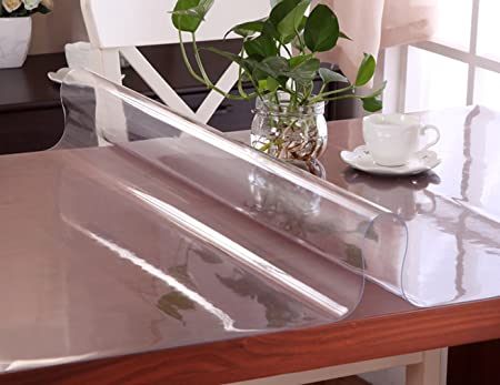 Cómodo hogar personalizados 1,5 mm de PVC transparente mantel ...
