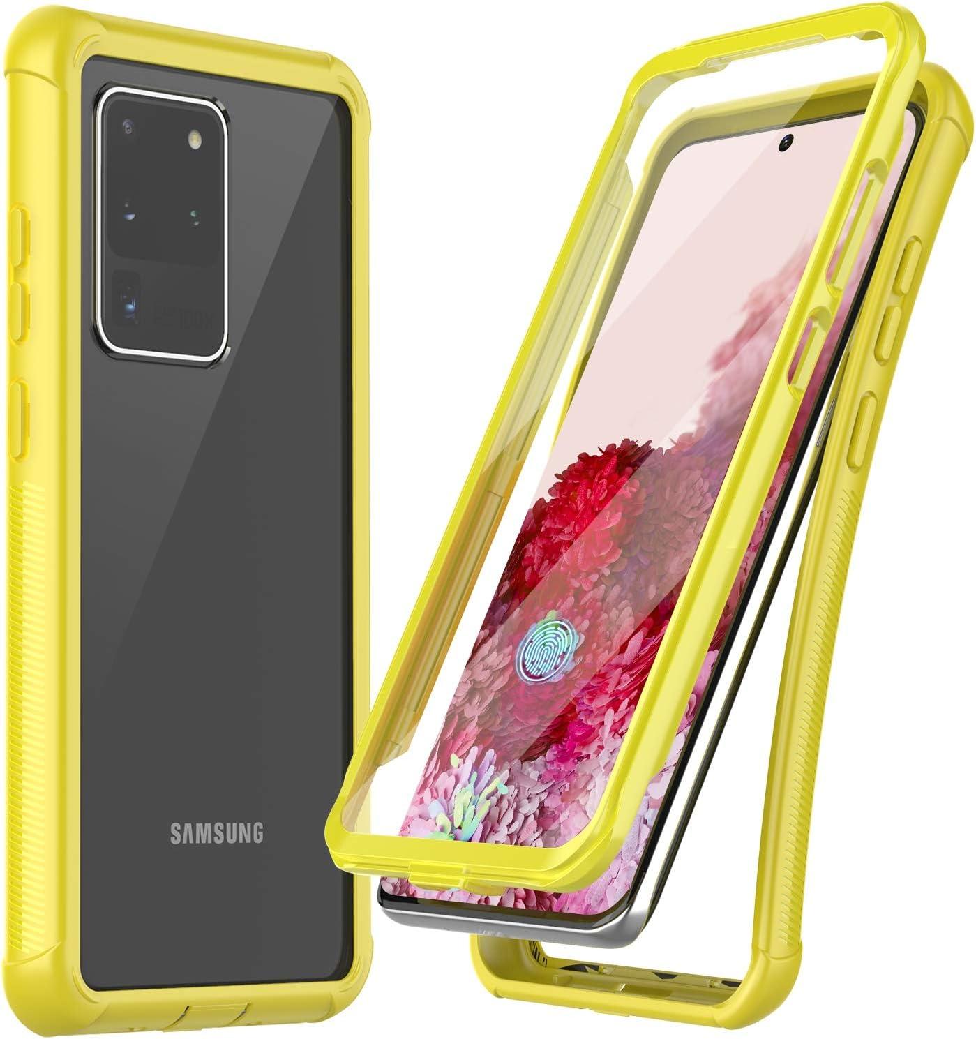 Funda Con Protector de Pantalla Samsung Galaxy S20 U (6HTT)