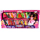Fashion Angel Toy Doll Playset, Comes w/ Doll, Variety of Unique Dresses, Beauty/Make Up Accessories
