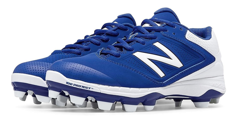 (ニューバランス) New Balance 靴シューズ レディースソフトボール Low Cut 4040v1 Plastic Cleat Blue with White ブルー ホワイト US 8 (25cm) B014I8TB9A