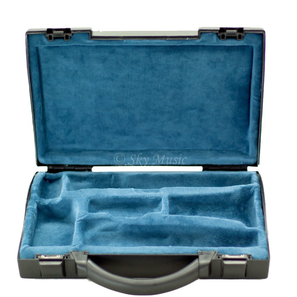 Sky Lightweight CLHC003 ABS Sturdy Clarinet Case Black/Blue