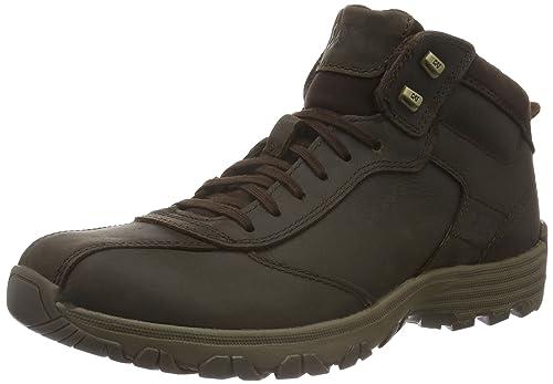 Caterpillar Men's Loop Ankle Boots, Brown (Mens Dark Brown), 6 UK 40