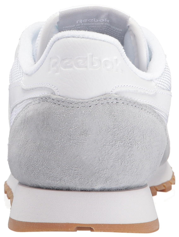 Reebok Pelle Classico Bianco Gomma Amazon VTHrES8Cbs