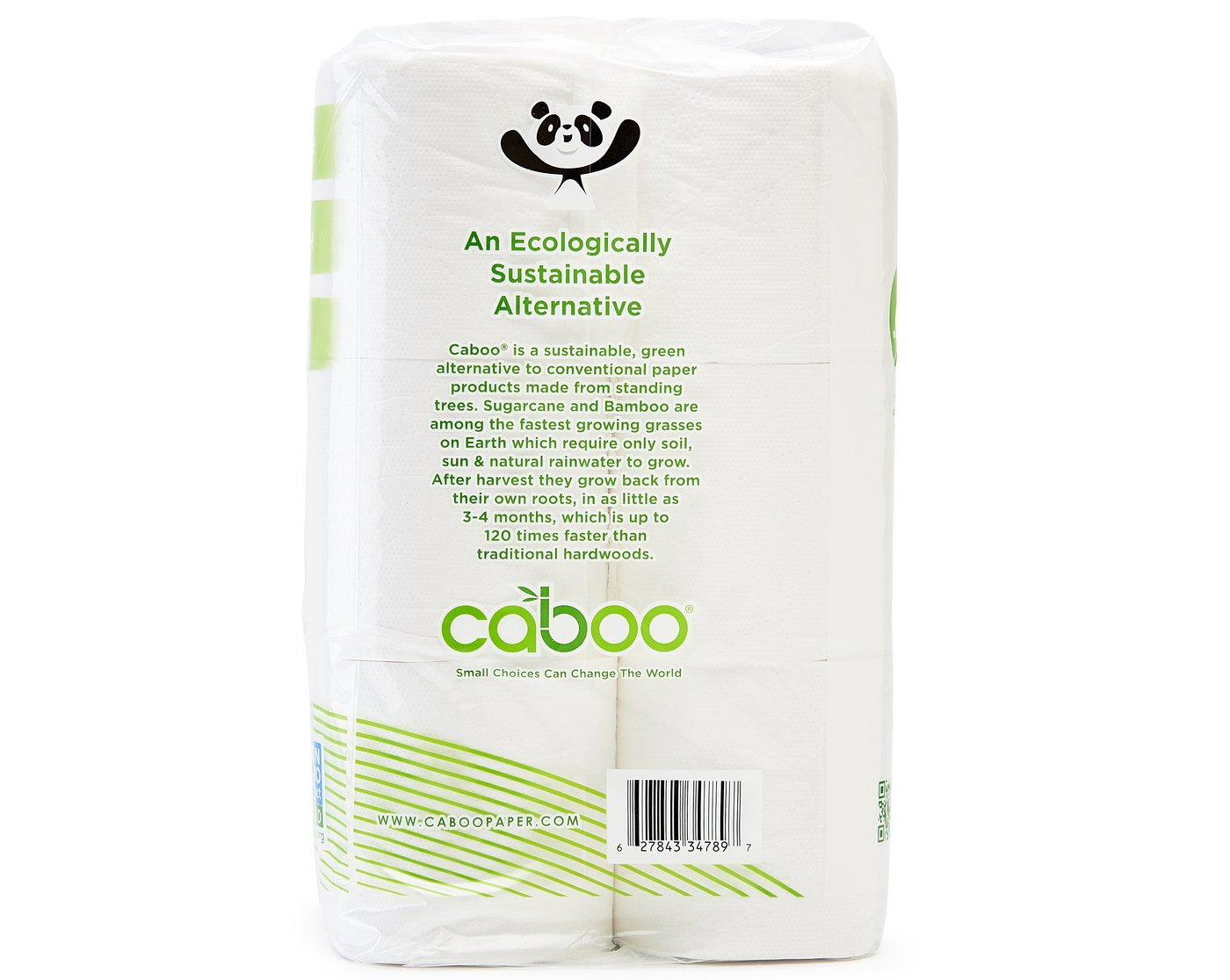 Amazon.com: Caboo Tree Free Bamboo Toilet Paper with Septic Safe ...