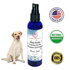 Harbor's Training Aid for Puppies and Dogs - 4 oz | Puppy Training Spray | Dog Training Spray | Dog Repellent for Furniture | Dog Repellent for Plant | 100% Satisfied or Return for Full Refund