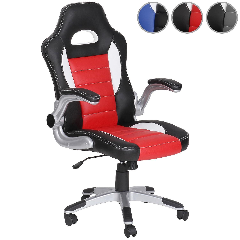 Poltrona ufficio sedia ufficio sedia da ufficio sedia da scrivania rossa Amazon Casa e cucina