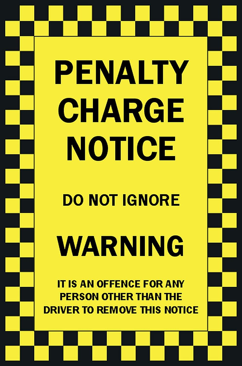 picture regarding Printable Fake Parking Tickets named Funking Bringing A Smile In direction of Your Experience 10 x Prank Parking Tickets. Pack Of 10 Untrue Joke Prank Parking Tickets.