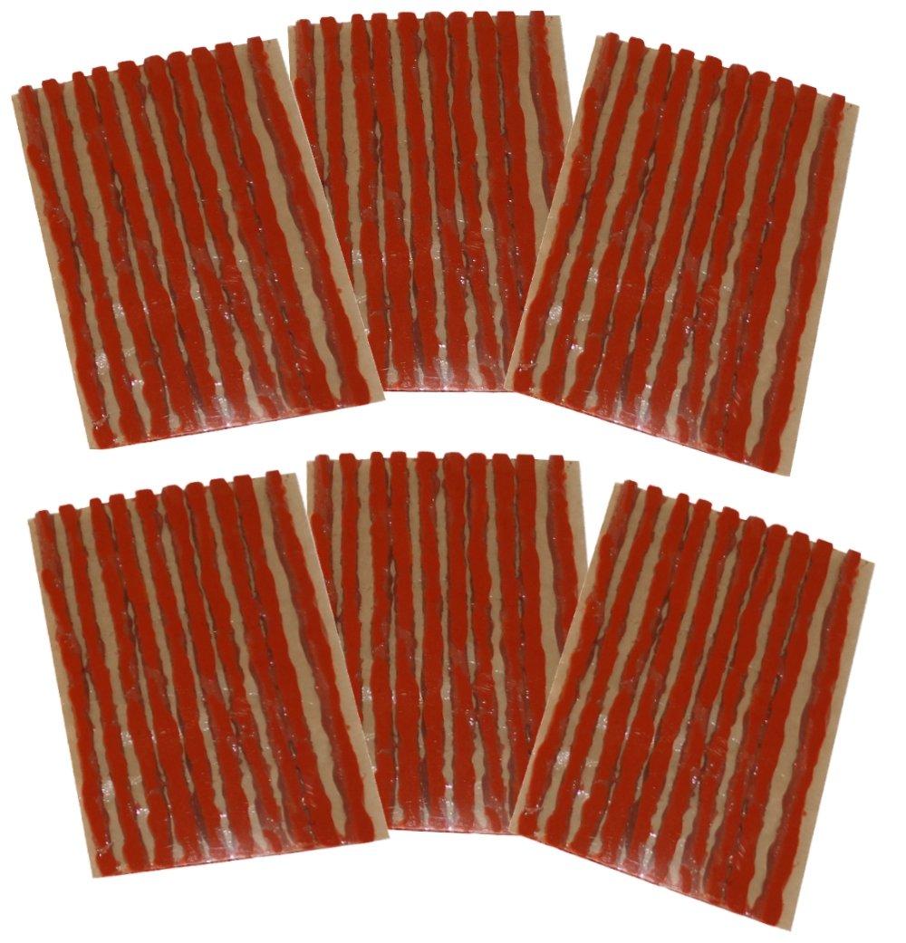 AERZETIX: Juego de 60 mechas 4mm 10cm Marron para Kit de reparacion de neumaticos C40654: Amazon.es: Coche y moto