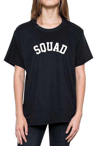 Minga London Squad T Shirt Top Fun Women S Tumblr Grunge Slogan