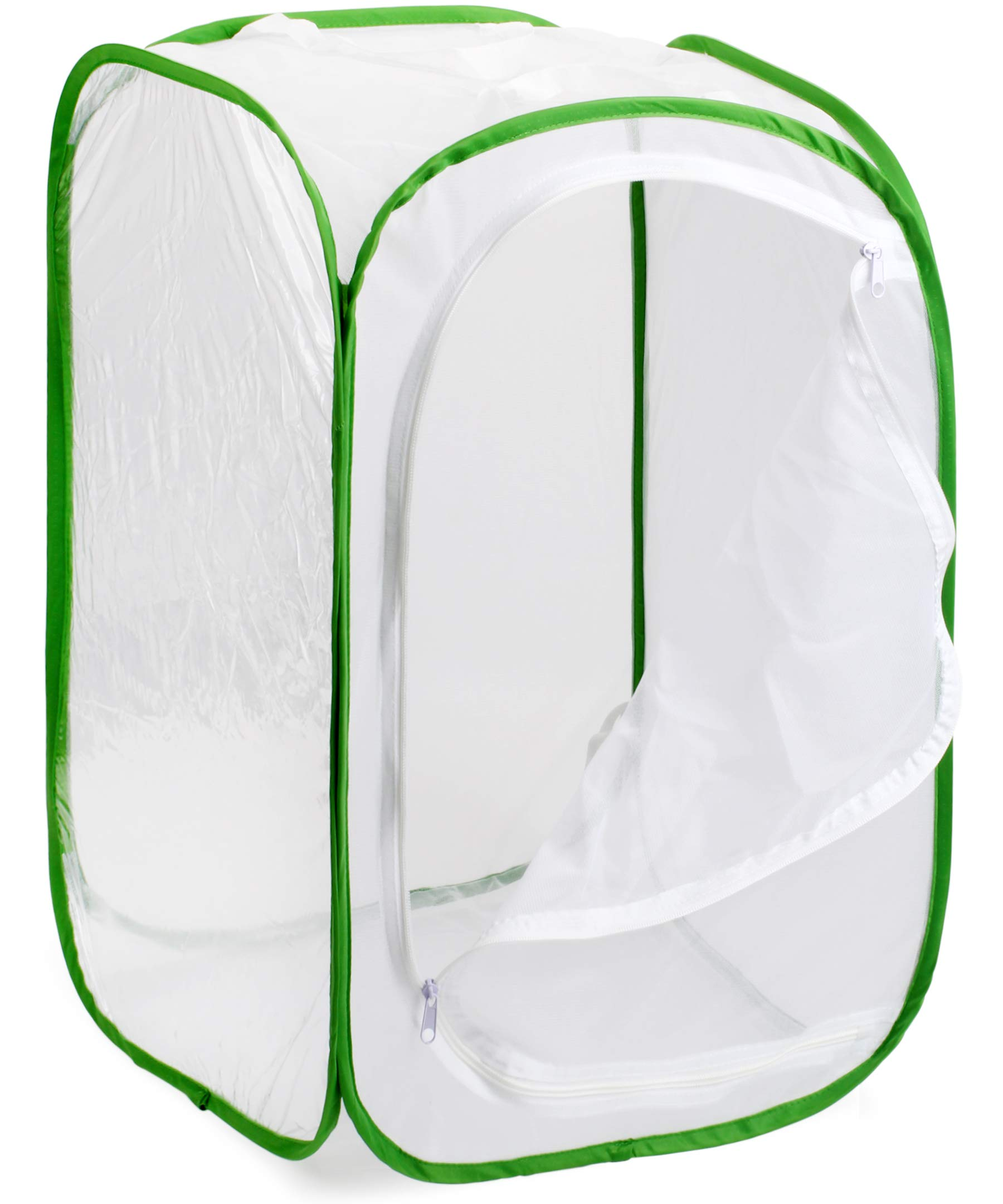 Muchfun Monarch Butterfly Habitat Cage Pop Up 16 x 16 x 24 Inches