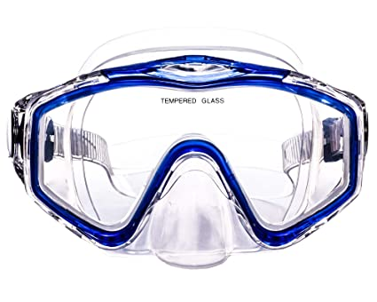 5084174cebfb Typhoon Sports Diving Swimming Mask Goggles - Teen Young Adult - Blue