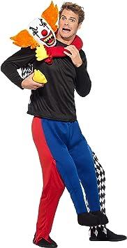Smiffys Disfraz de payaso de payaso para niños: Amazon.es ...
