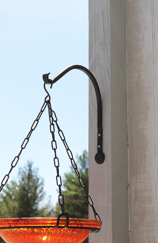 Amazon.com: Achla diseños Arc Soporte de pared gancho, Negro ...
