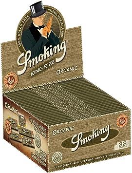 Smoking - Papel para tabaco de liar, largo, orgánico, de cáñamo ...