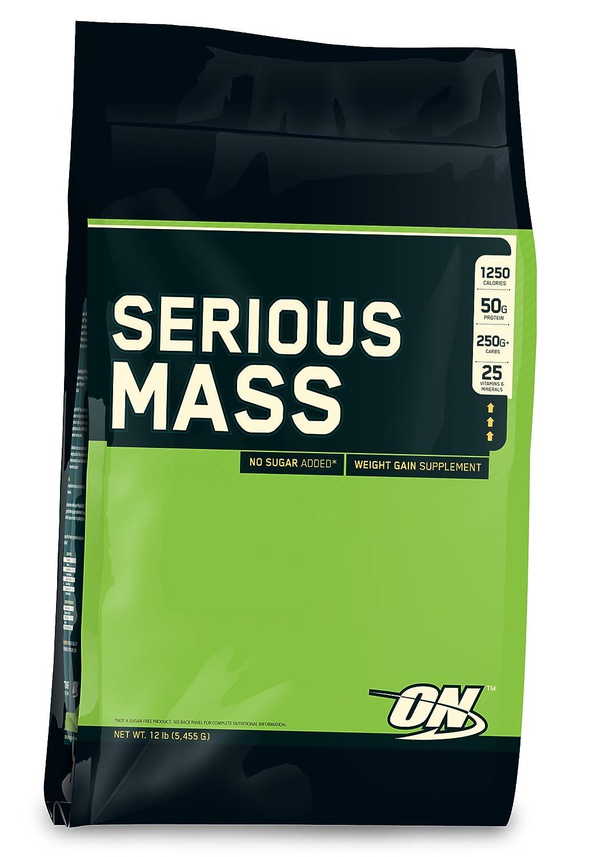 Optimum Nutrition シリアスマス (5.4kg) ( Serious Mass 12lbs ) バナナ B00GLBMMU8