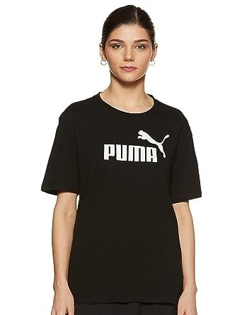 43fc17160a Puma Essentials Boyfriend Logo Women's Tee - SS19: Amazon.fr ...