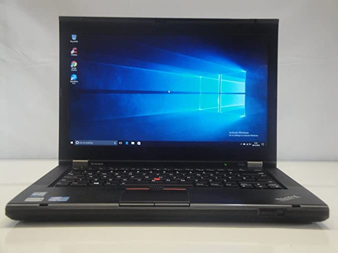 Fast Lenovo ThinkPad T430 Windows 10 (64 Bit) Laptop Core i5 3rd Generation 2.6Ghz 8GB RAM 240Gb SSD Wifi DVDrw (Certified Refurbished)