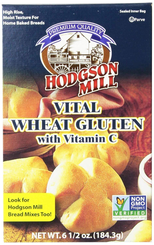HODGSON MILL VITAL WHEAT GLUTEN, 6.5 OZ 2-pack