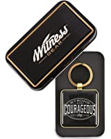 Be Strong and Courageous Collection Keyring - Joshua 1:9