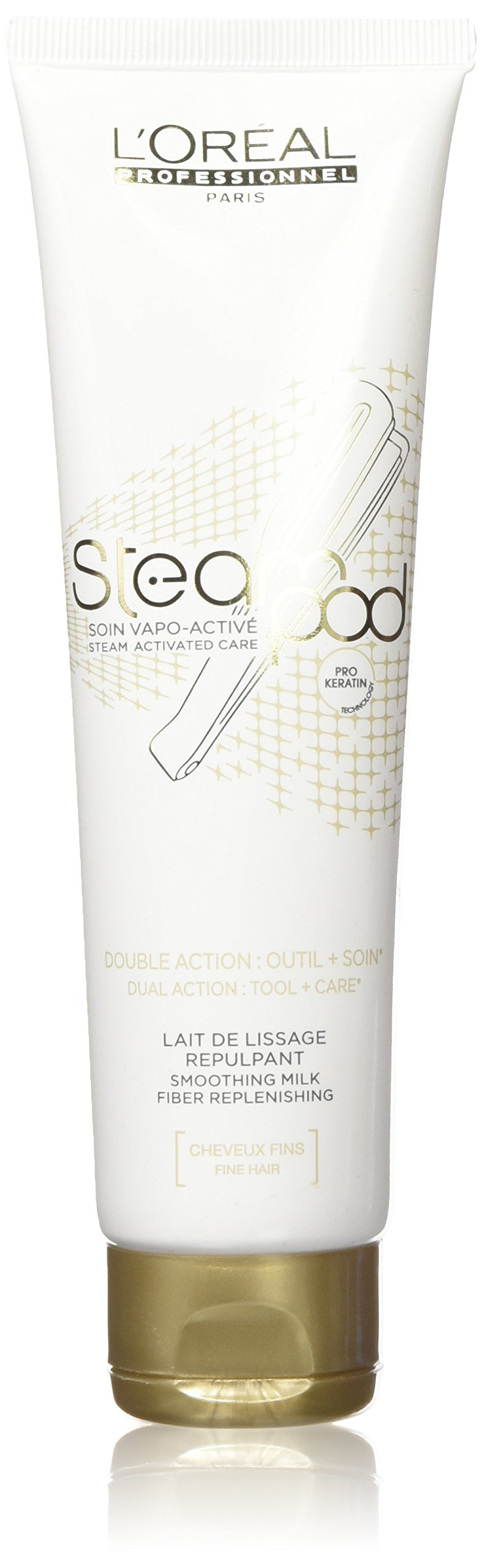 L'Oreal Professionnel Steampod Steam Activated Care Smoothing Milk (For Fine Hair) 150ml/5oz