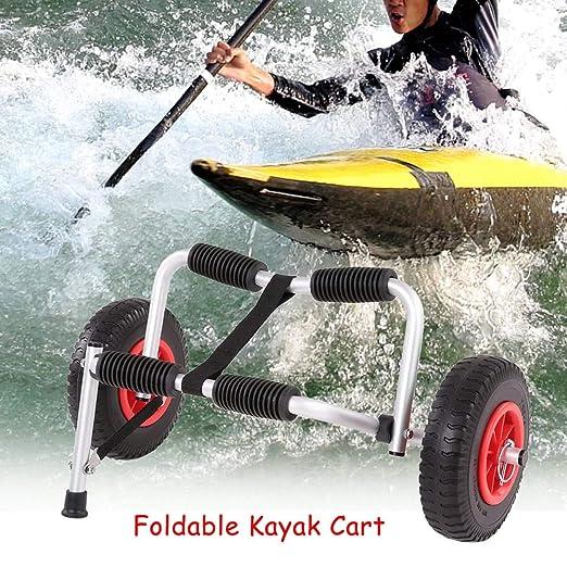 Portátil Ligero Plegable Barco Kayak Portador Canoa Dolly ...