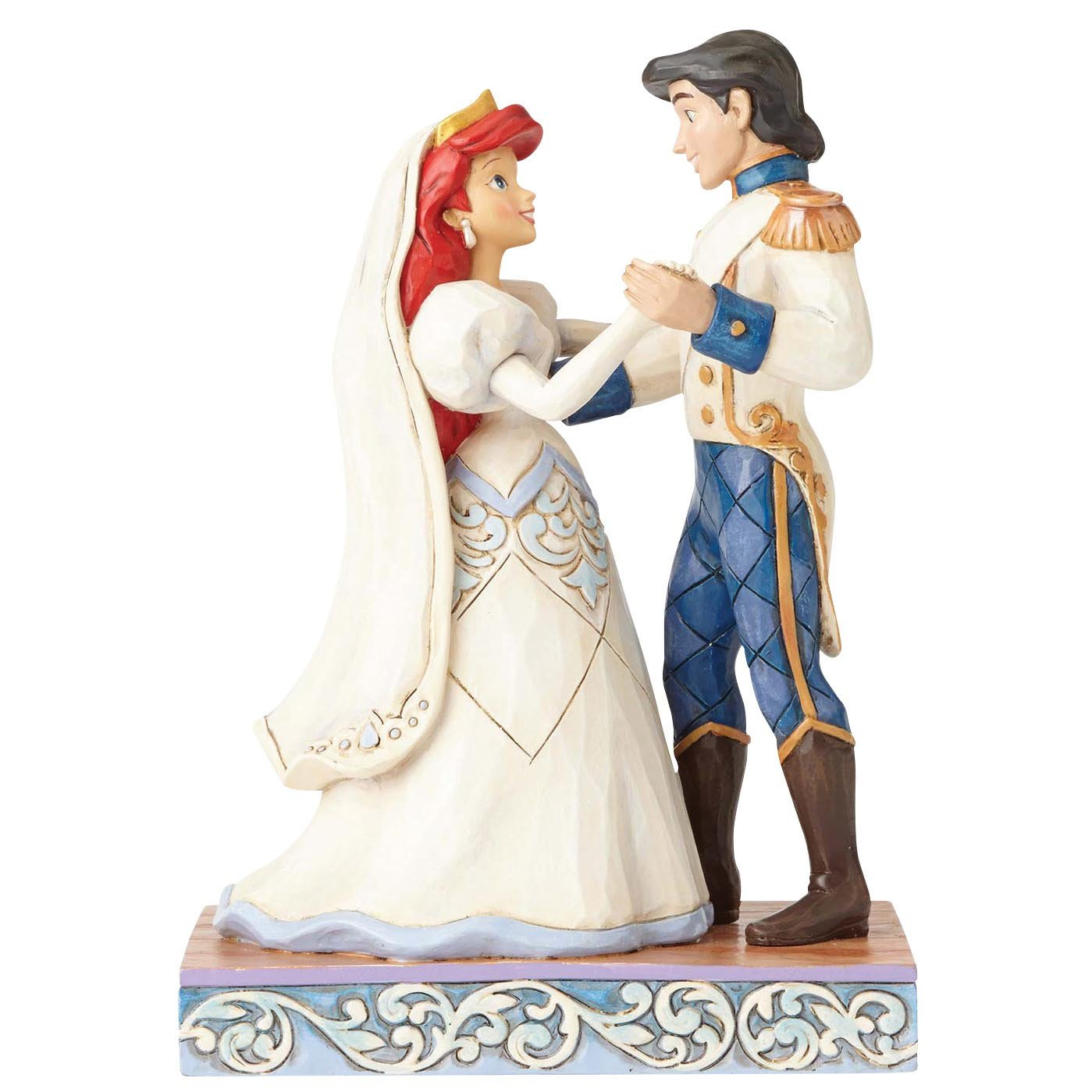 Amazoncom Jim Shore Disney Traditions by Enesco Ariel and Prince