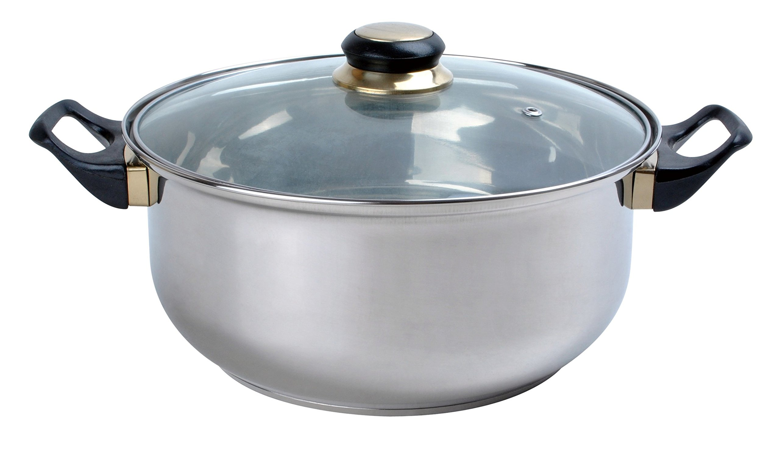 Aramco Alpine Gourmet Dutch Oven, 2 quart, Stainless Steel by Aramco (Image #1)