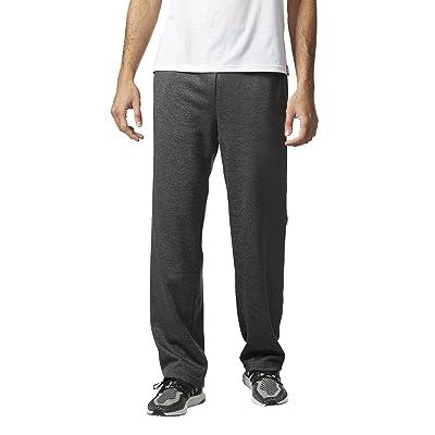 adidas Men's Team Issue Fleece Open Hem Pant: Clothing