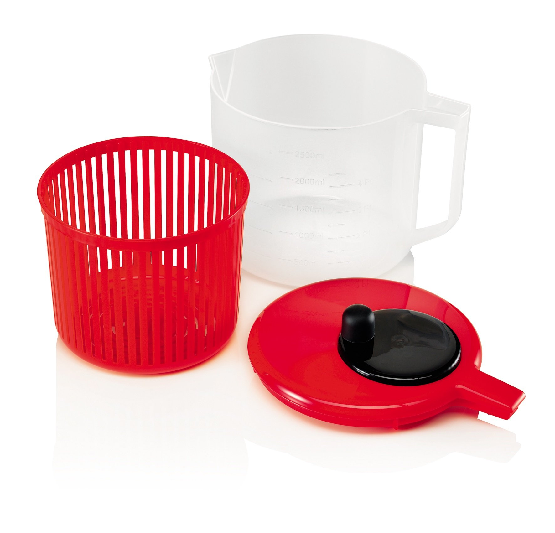 Zeal J259R Salad Spinner, Red by Zeal