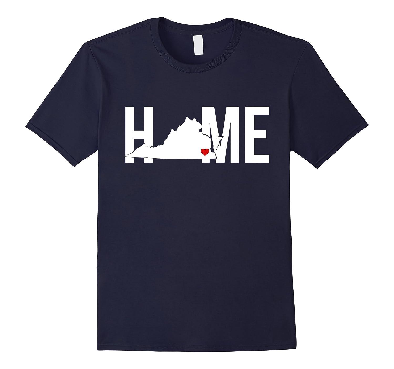 I Love My Home Virginia State T-Shirt-Vaci