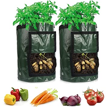 TooTaci 2 Bolsas de Cultivo para Plantas, Bolsa de 10 ...