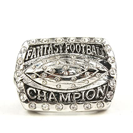 abaac412200 Image Unavailable. Image not available for. Color  quanpin 2016 Fantasy  Football Championship Ring ...